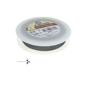 "19STRD WIRE .015"" BRIGHT 1000' (0.15 mm, 305 m)"