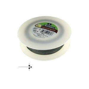 "7STRD WIRE .021"" BRIGHT 1000' (0.53 mm, 305 m)"