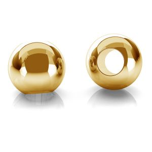 Guličky 2,5mm zlato 14K P2LZ 2,5 F:1,2