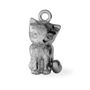 Mačka prívesok, striebro 925, ODL-00386