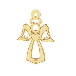 Anjel privese, zlato 14K, LKZ-00332 - 0,30