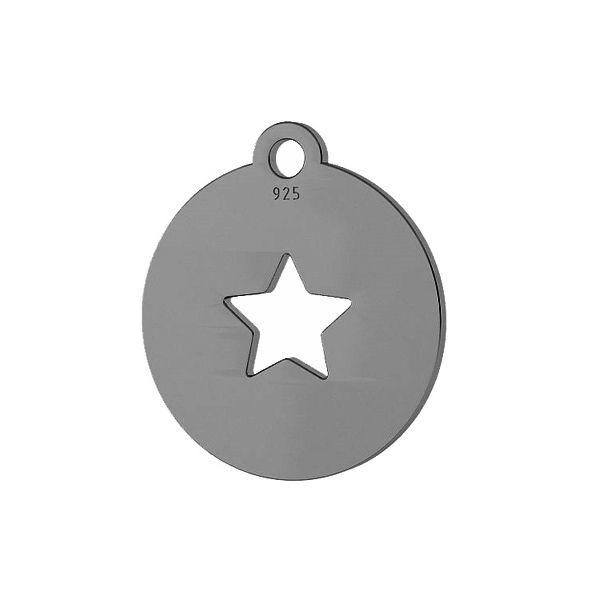 Hviezda prívesok striebro 925, LKM-2048
