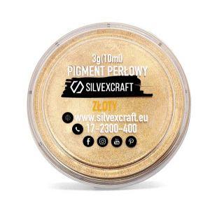 Perlový pigment - zlatý, 3 g