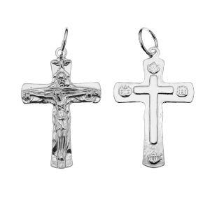 Kríž prívesok, striebro 925, ODL-00323