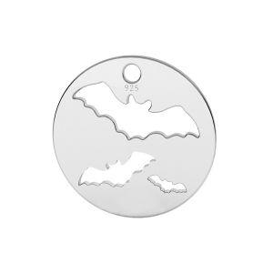 Netopier prívesok striebro, LK-1561 - 0,50