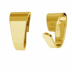 šlupne zlato 14K LKZ-50008 - 03