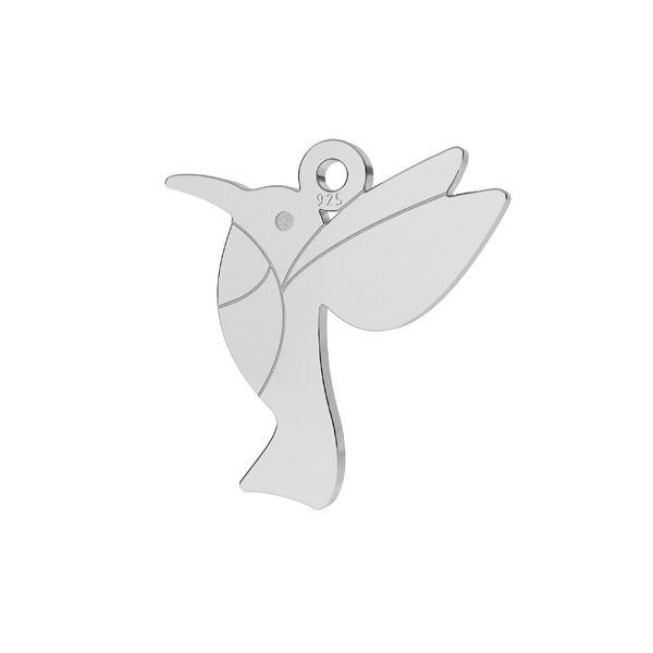 Kolibrík prívesok striebro, LKM-2266 - 0,50