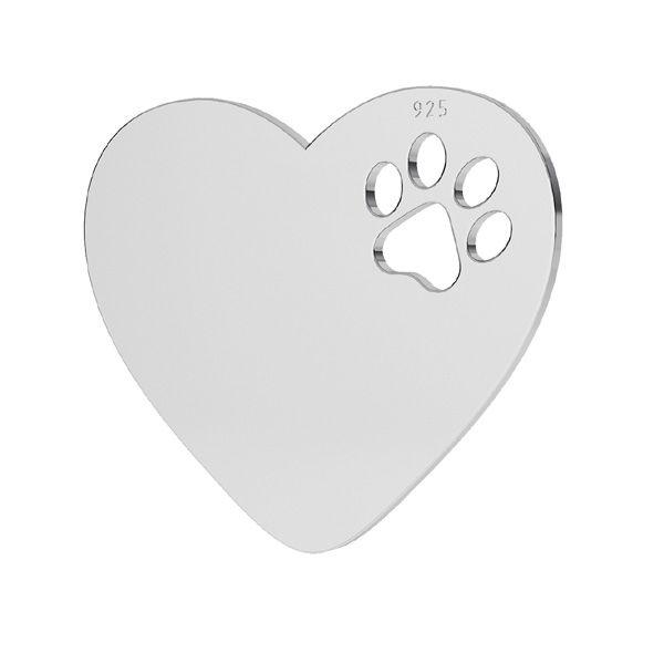 Srdce prívesok striebro 925, LKM-2294 - 05