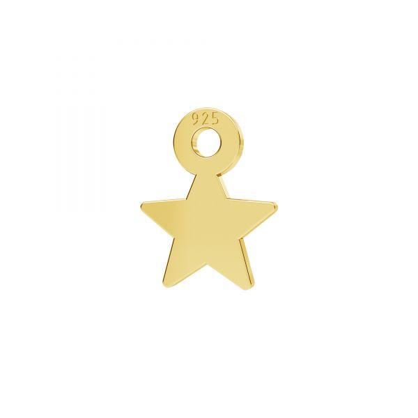 Hviezda mini prívesok striebro 925, LKM-2336 - 0,50