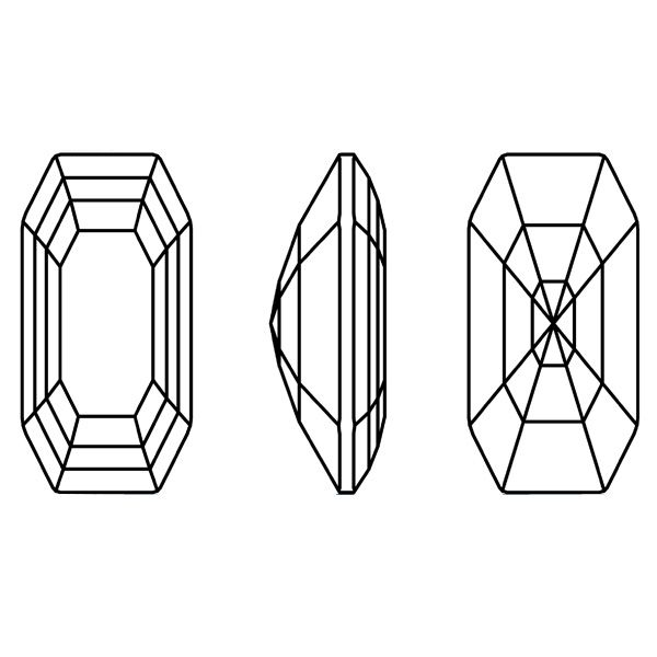 4595 MM 20,0X 10,0 SCARLET F (Elongated Imperial Fancy Stone)