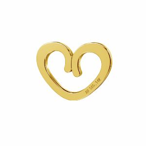 Srdce prívesok zlato 14K*LKZ-50009 - 03