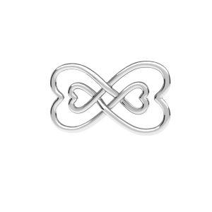 Znak nekonečna privesek, ODL-00674 11x20,5 mm