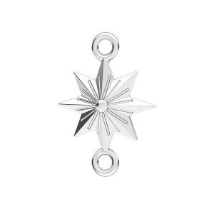 Hviezda prívesok*striebro 925*ODL-00638 12x17,1 mm