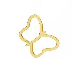 Motýľ prívesok *zlato AU 585 14K*LKZ-50015 - 03