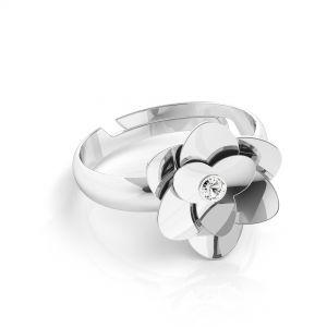 Ruže krúžok*striebro 925*U-RING ODL-00041
