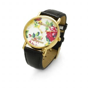 BLACK FLOWER WATCH, MODEL 464