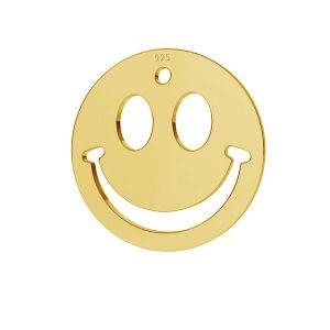 Usmev emotikon prívesok striebro 925, LKM-2025