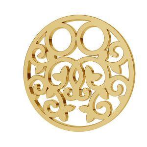 Kolo prívesok zlato 8K LKZ8K-30005 - 0,30 13x13 mm