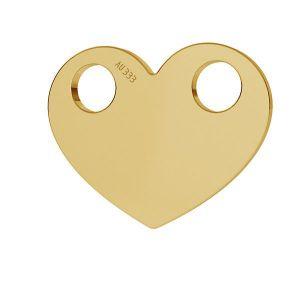 Srdce prívesok*zlato 333*LKZ8K-30007 - 0,30 9,4x12 mm