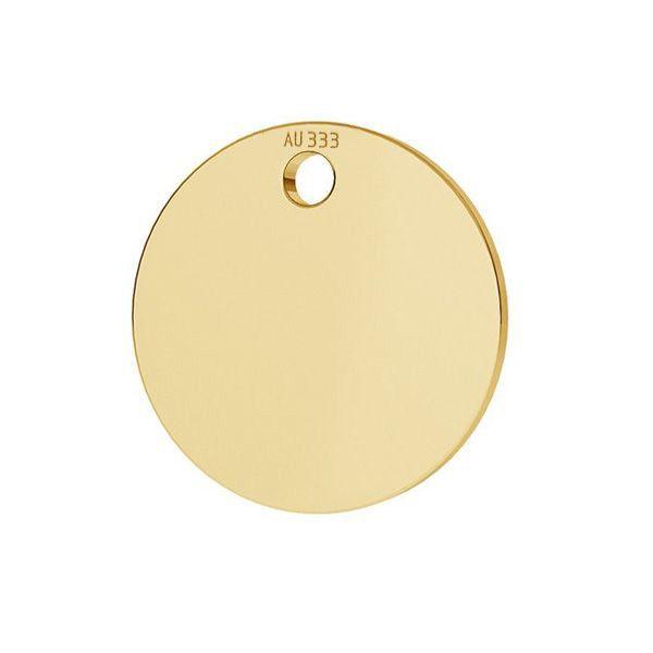 Kolo prívesok*zlato 333*LKZ8K-30010 - 0,30 10x10 mm