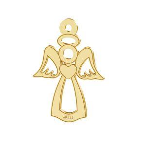Anjel privesek*zlato 333*LKZ8K-30016 - 0,30 13x18,5 mm