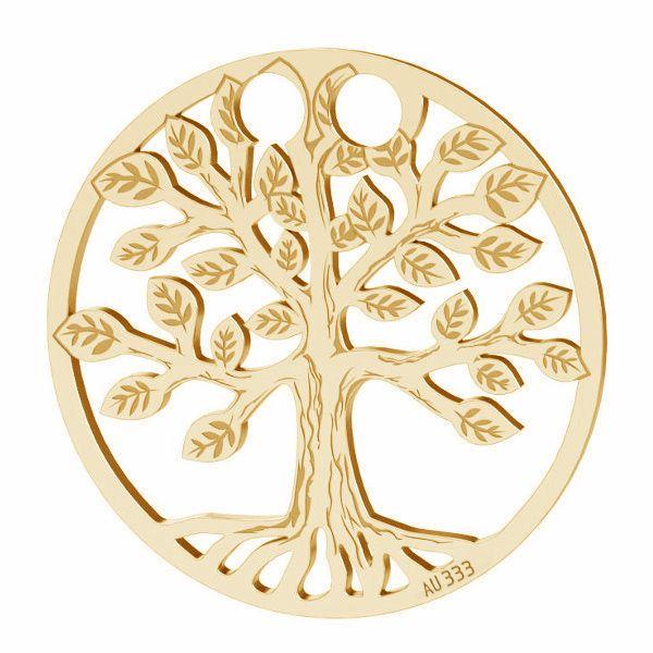 Strom života privesek*zlato 333*LKZ8K-30017 - 0,30 19x19 mm