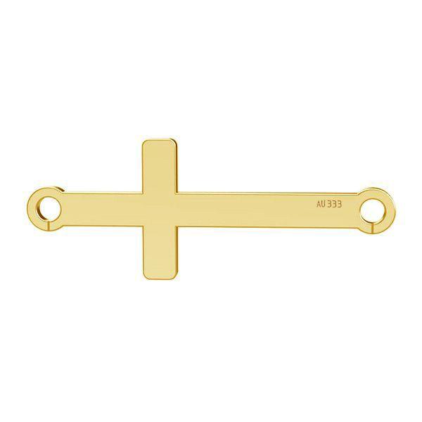 Horizontálny kríž privesek*gold 333*LKZ8K-30020 - 0,30 9x23 mm