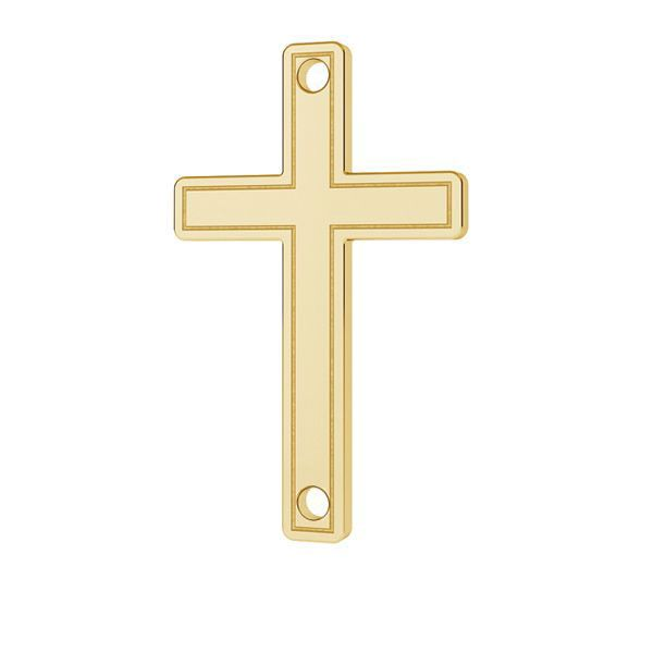 Kríž prívesok zlato 14K LKZ-00028 - 0,30 mm