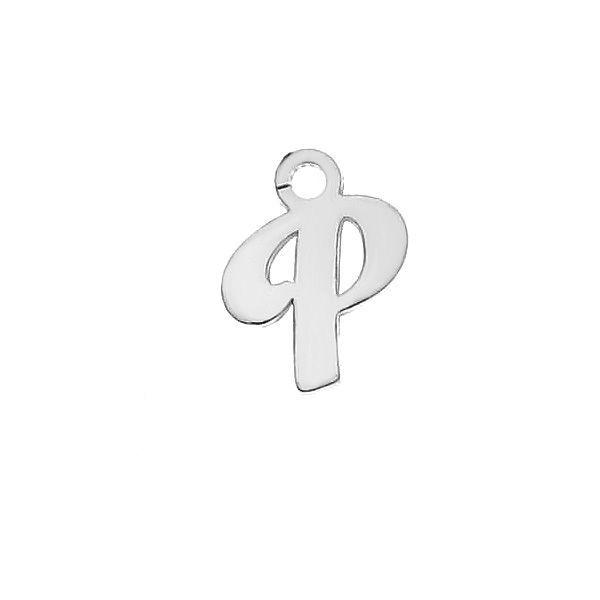 Písmeno T privesek*striebro 925*LK-0076 - 0,50 5,1x9,5 mm