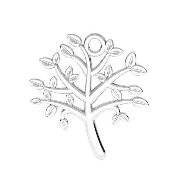 Strom života prívesok striebro 925, ODL-00764 21,5x21,5 mm