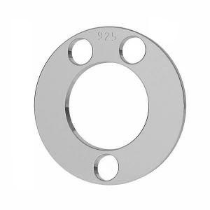Kolo prívesok striebro 925, LKM-2892 - 0,80 5x5 mm