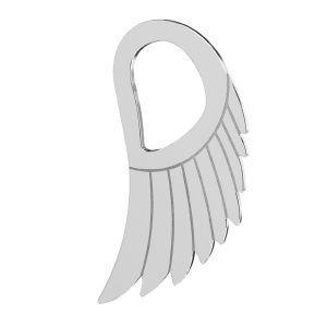 Krídla privesek, LKM-2221 - 0,50 8,8x15 mm