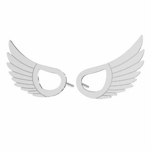 Krídla náušnice*striebro 925*KLS LKM-2961 - 0,50 8,8x15 mm
