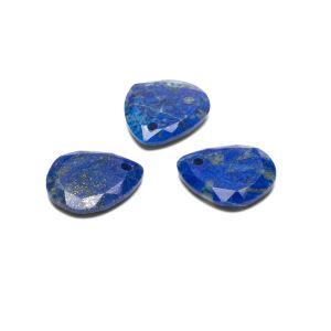 Slza prívesok, Lapis lazuli 16 mm, polodrahokam